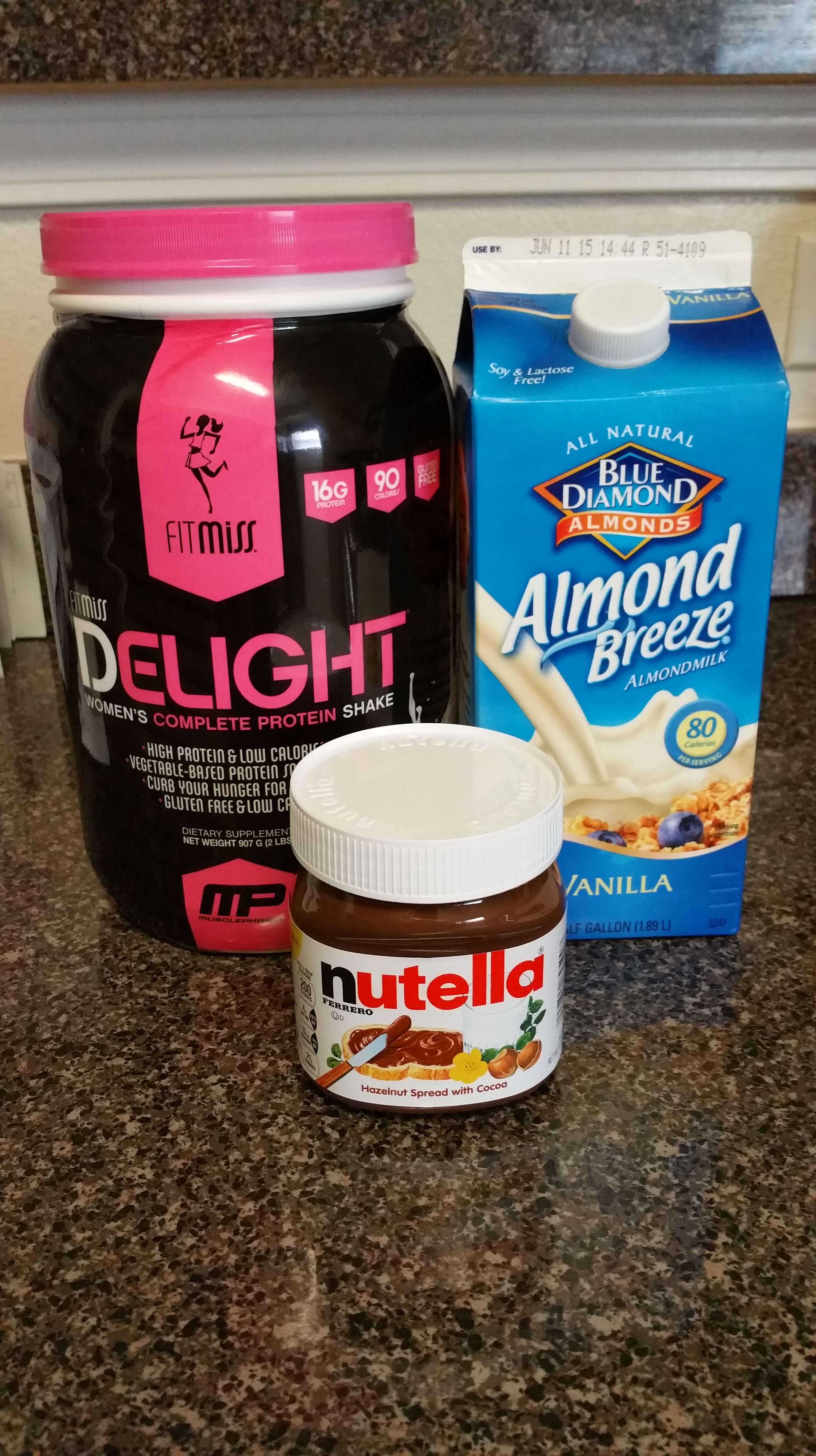 Protein Packed | Nutella Shake + Power Cakes